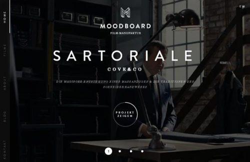 Класичний дизайн сайту